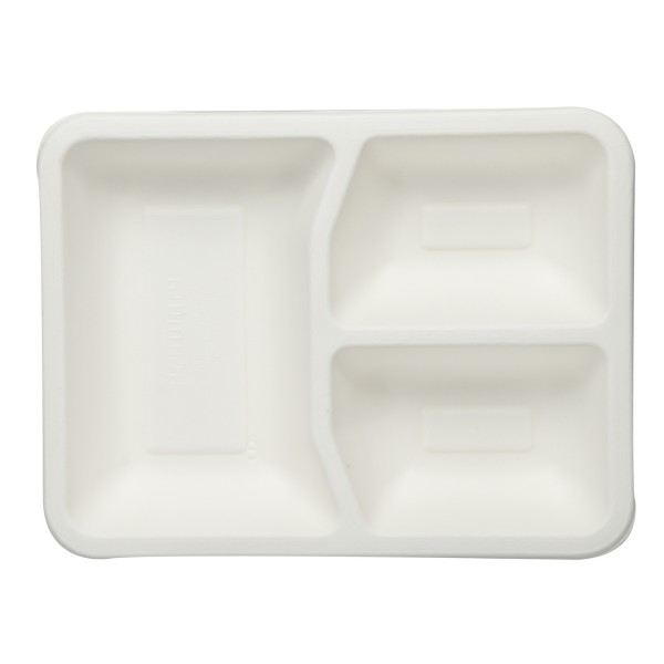 3 Comp Tray- ( Pack of 25 Pieces)