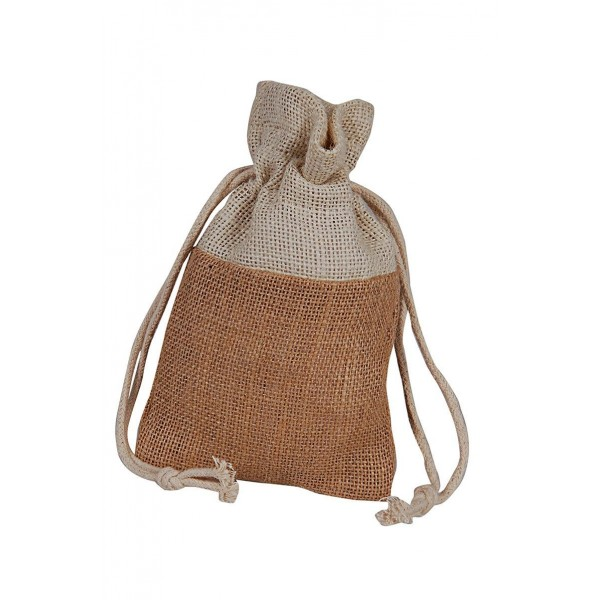 2 Colored Jute Pouch- Pack of 3