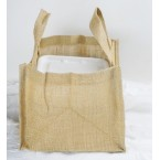 Multipurpose Jute Bag- Size ( L 7 X W 9.5 X H 7 cm)