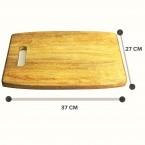 Mango Wood Chopping Board ( 37 CM X 27 CM X 2 CM )