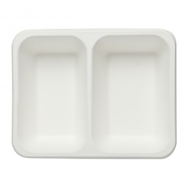 2 Comp tray ( Pack of 25 Pieces )